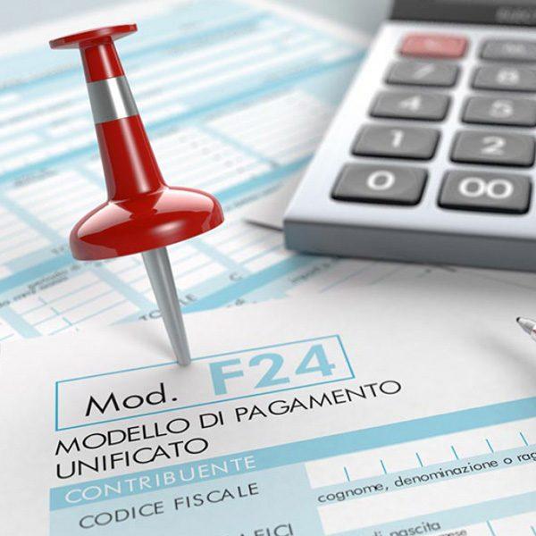 Modello F24 Online - Invio telematico dei modelli con addebito su c/c del cliente